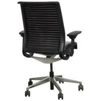 Steelcase Think Used Leather Task Chair, Black