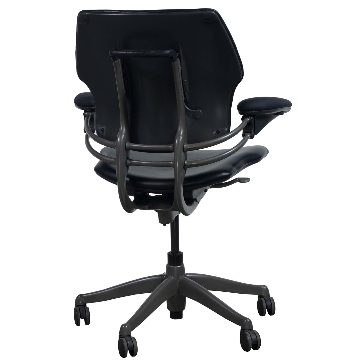 Humanscale Freedom Chair Humanscale Freedom Leather Used Task Chair Black