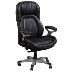 Pu Leather Office Chair Desk Pad Captain By Gosit Executive Ergo Task Black Cs 2083e