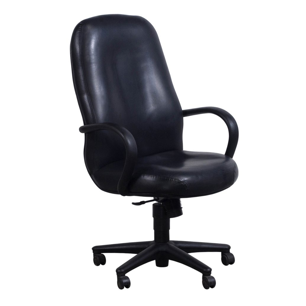 Used High Chairs Hon Used High Back Executive Leather Chair Black