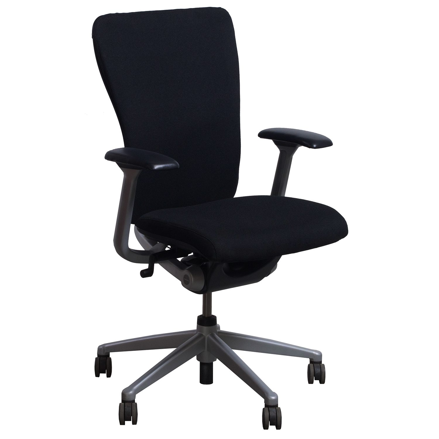 haworth zody chair folding depot used conference black national