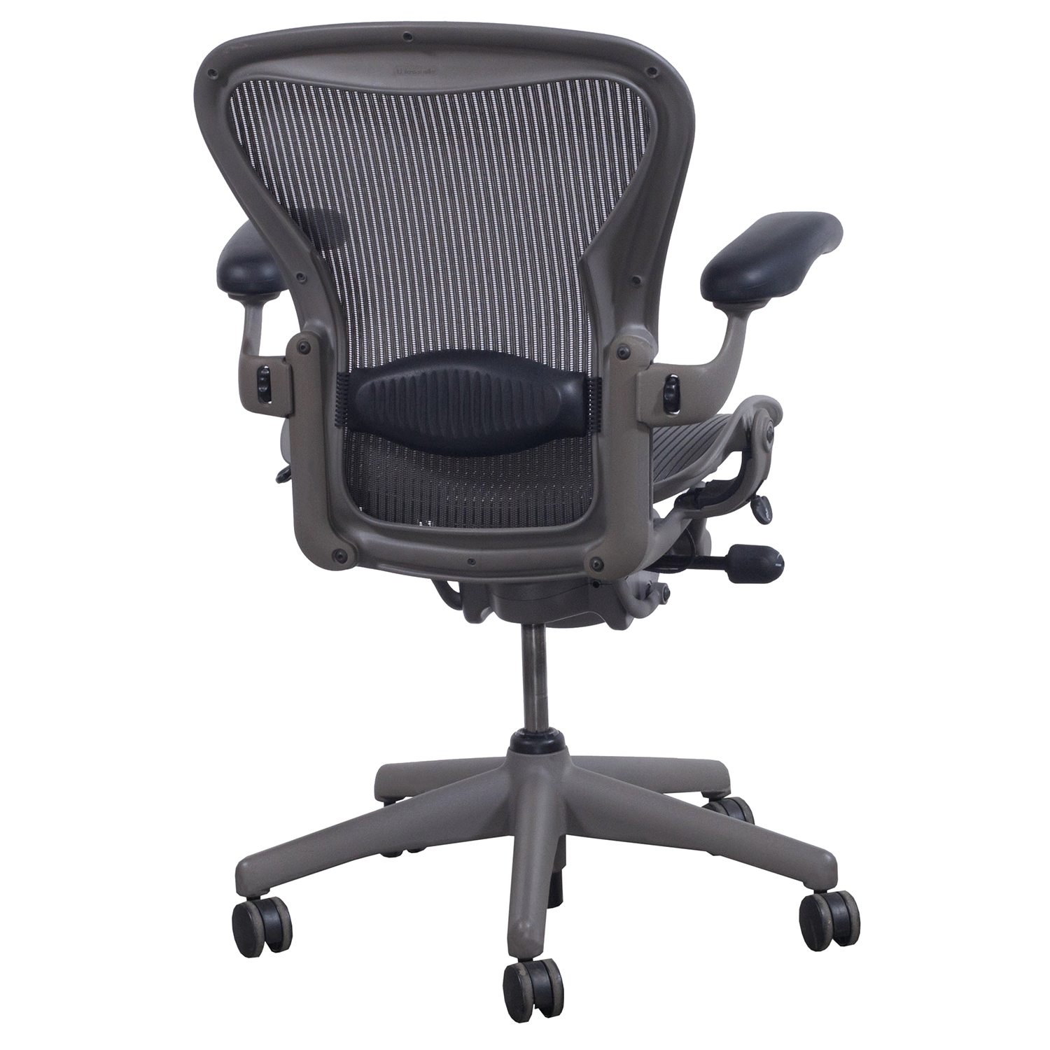 aeron chair accessories wedding chairs hire sydney herman miller used size b task lead