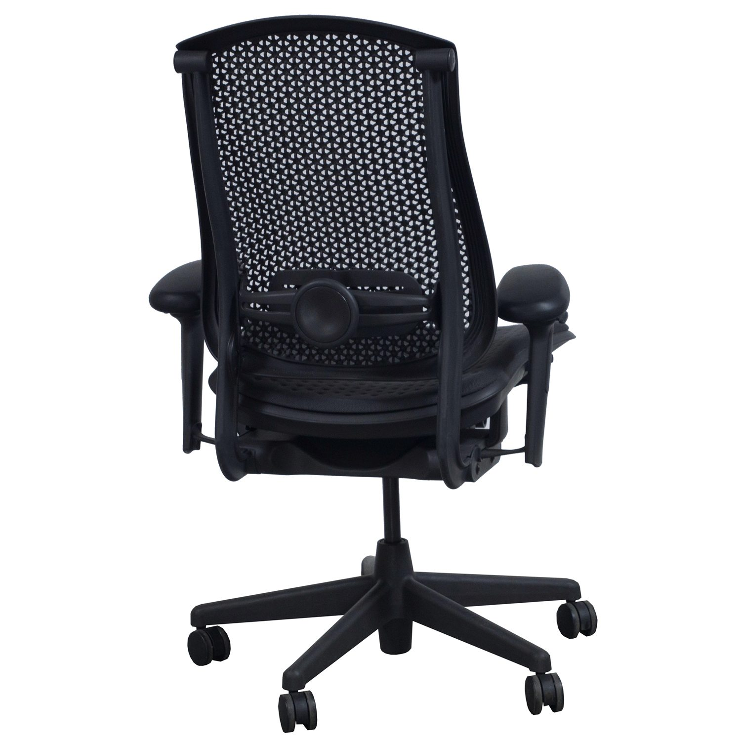 herman miller used office chairs recliner chair covers for sale celle task black national