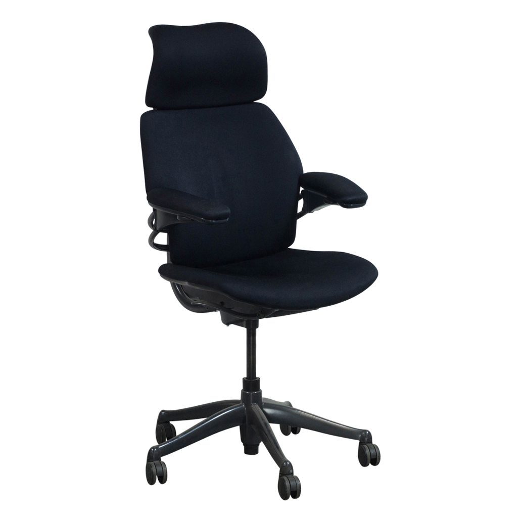 Used High Chairs Humanscale Freedom Used High Back Task Chair Black