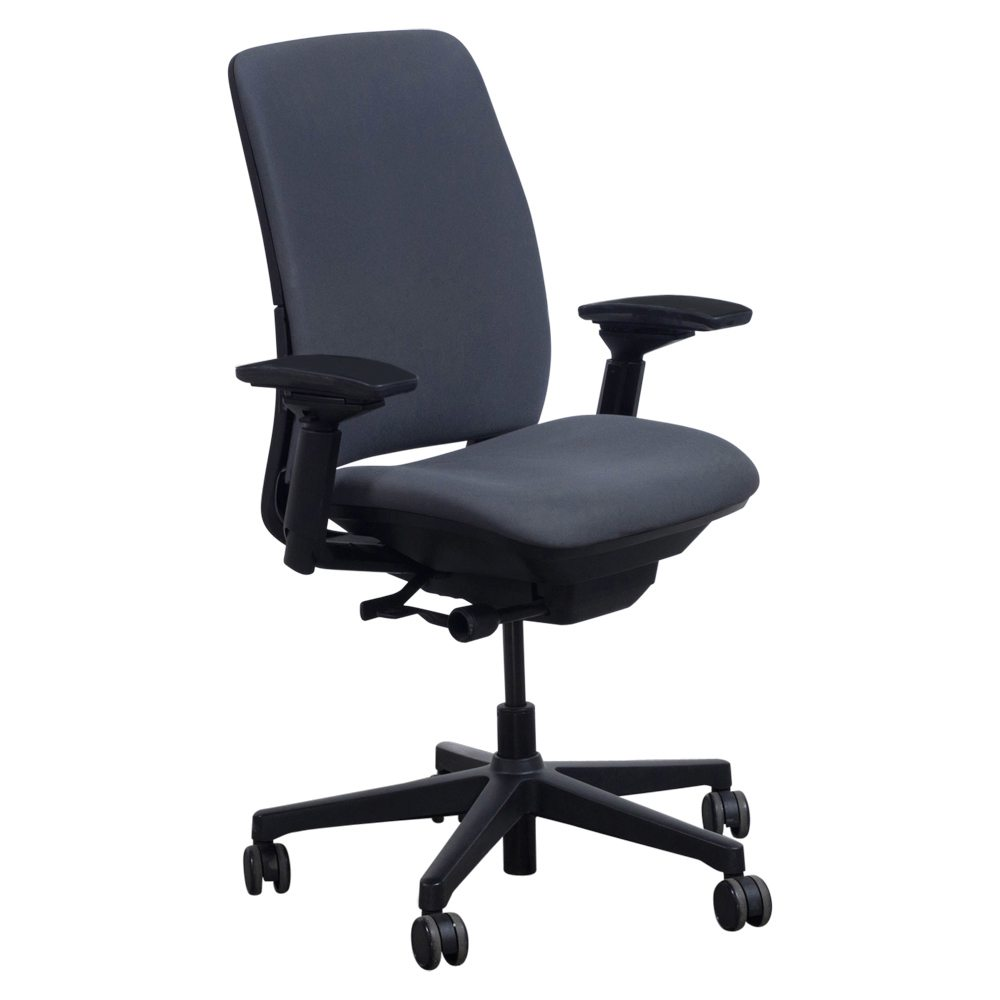 Steelcase Amia Used Task Chair Graphite  National Office