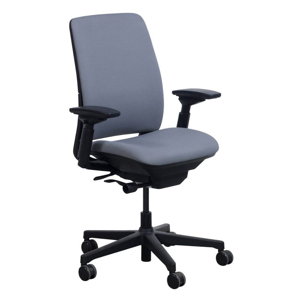 Steelcase Amia Used Task Chair Gray  National Office