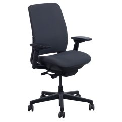 Steelcase Amia Chair Bubble Stand Uk Used Task Gray Pattern National