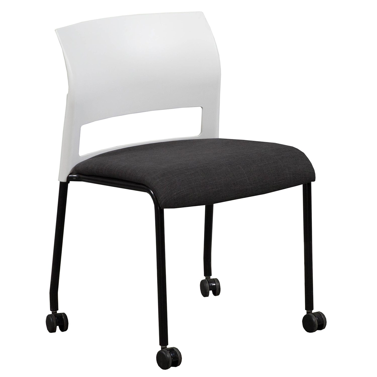 Moving Chair Steelcase Move Used Mobile Stack Chair Smoke National