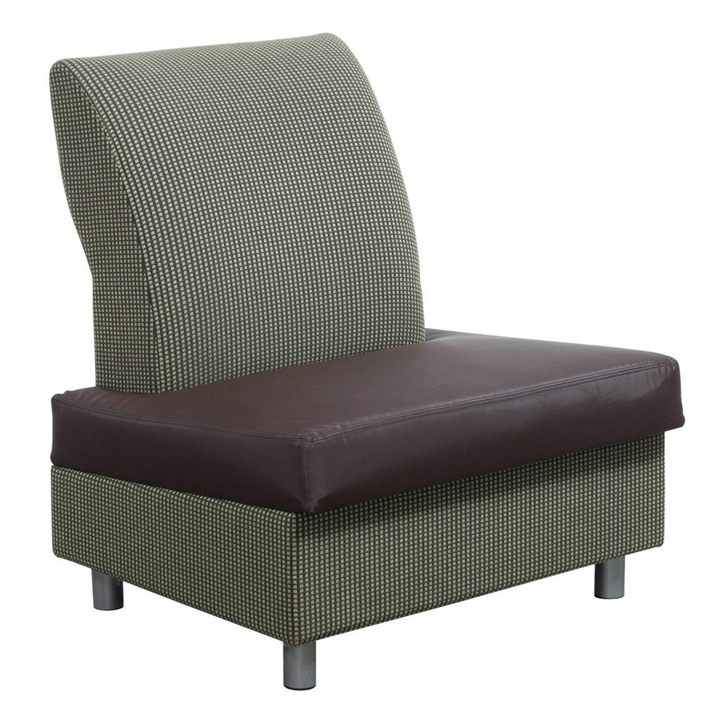 green lounge chair upholstered dining room steelcase metro archipelago used brown and