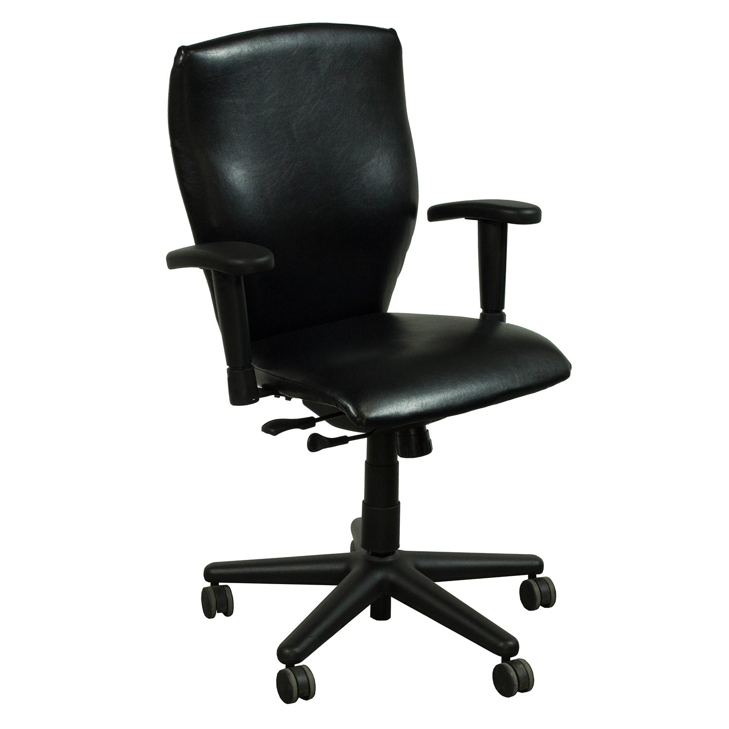 allsteel relate side chair lounge size energy used leather conference black