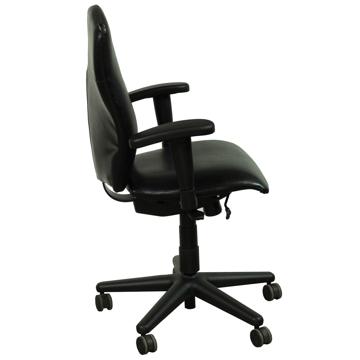 allsteel relate side chair hanging amazon india energy used leather conference black