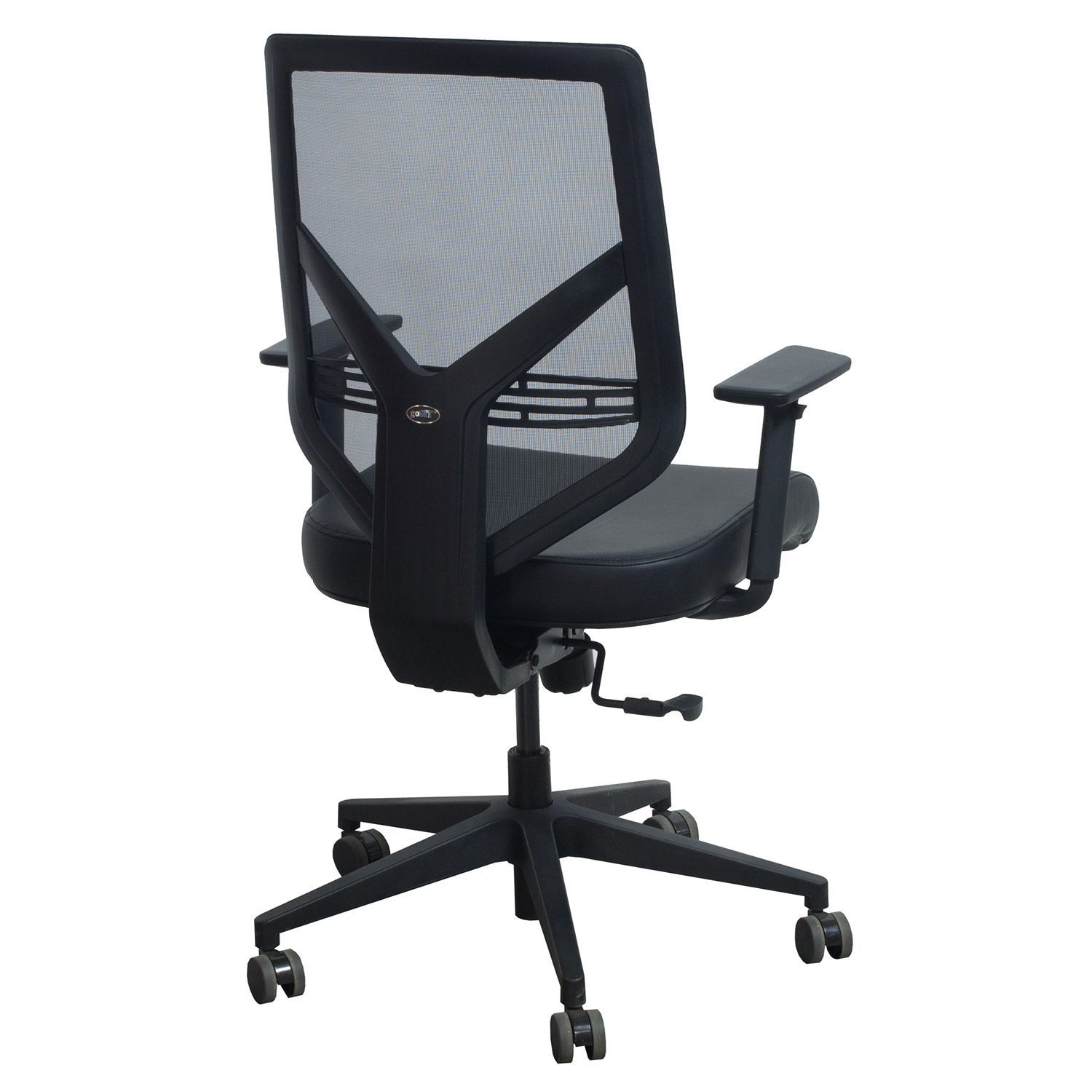mesh task chair childrens table and chairs ikea compass by gosit leather black