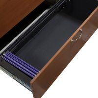 Herman Miller Used 2 Drawer White 42 Inch Lateral File