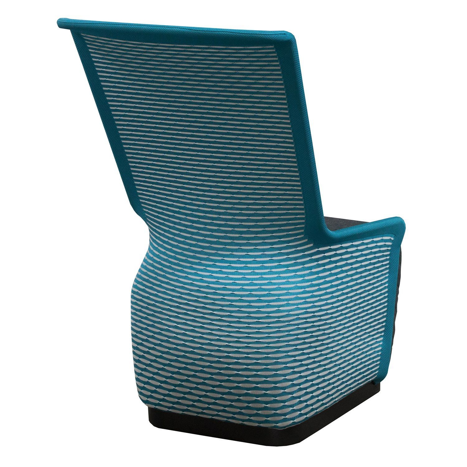 Mesh Lounge Chair Tide Pool By Gosit Modern Mesh Lounge Chair Blue And Gray