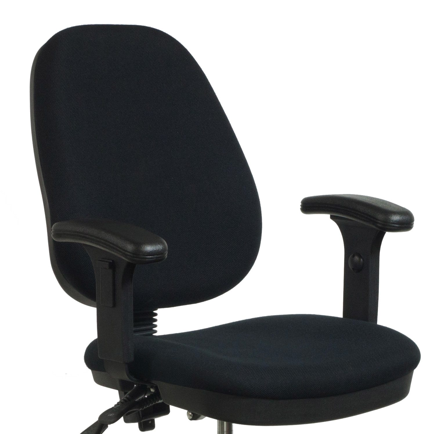 ergonomic drafting chair with arms covers gold flash furniture used stool black