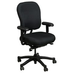 Knoll Rpm Chair Baby Vibrating Used Ergonomic High Back Task Black