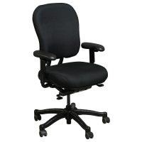 Knoll RPM Used Ergonomic High Back Task Chair, Black