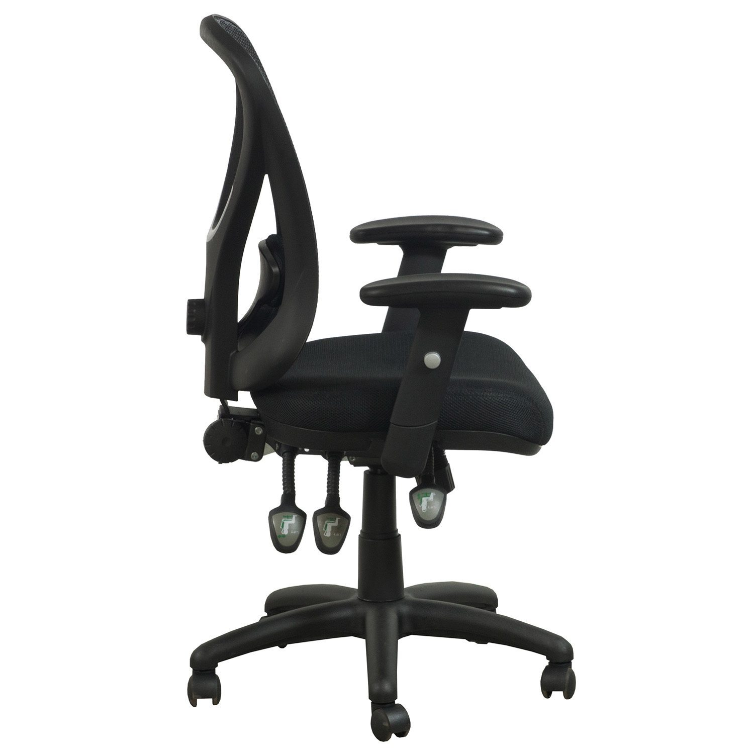 Staples Task Chair Staples Carder Used Mesh Back Task Chair Black National