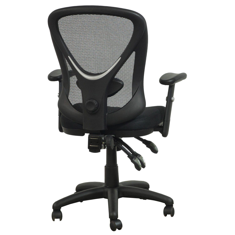 Staples Carder Used Mesh Back Task Chair Black  National