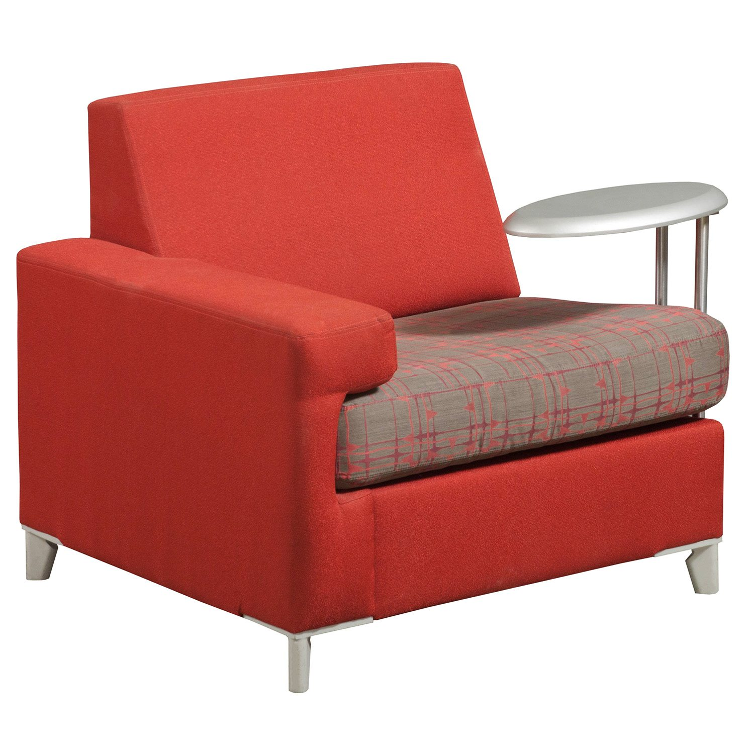 red lounge chair steelcase instructions tuohy used left tablet national office