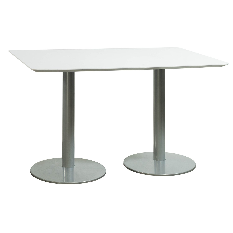 Used 3048 Inch Laminate Break Room Table White