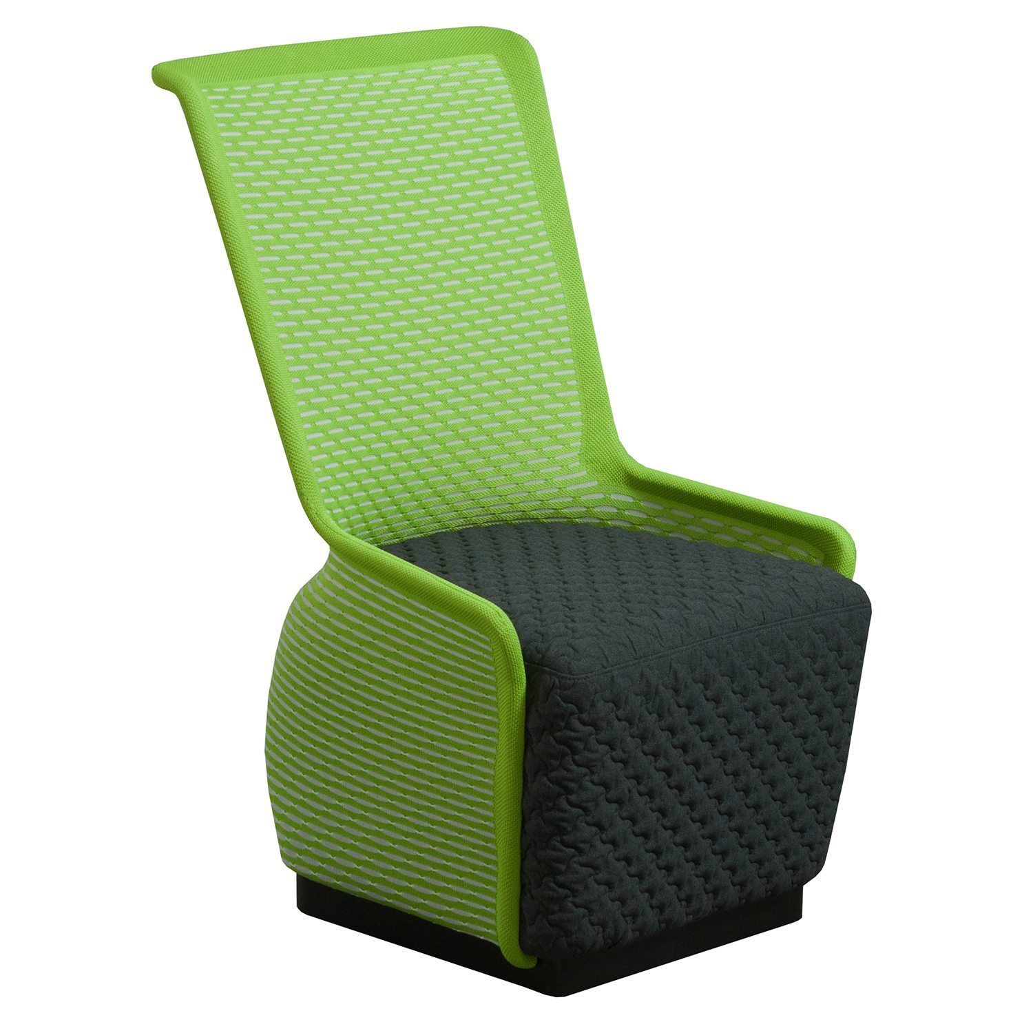 Mesh Lounge Chair Tide Pool By Gosit Modern Mesh Lounge Chair Green And Gray