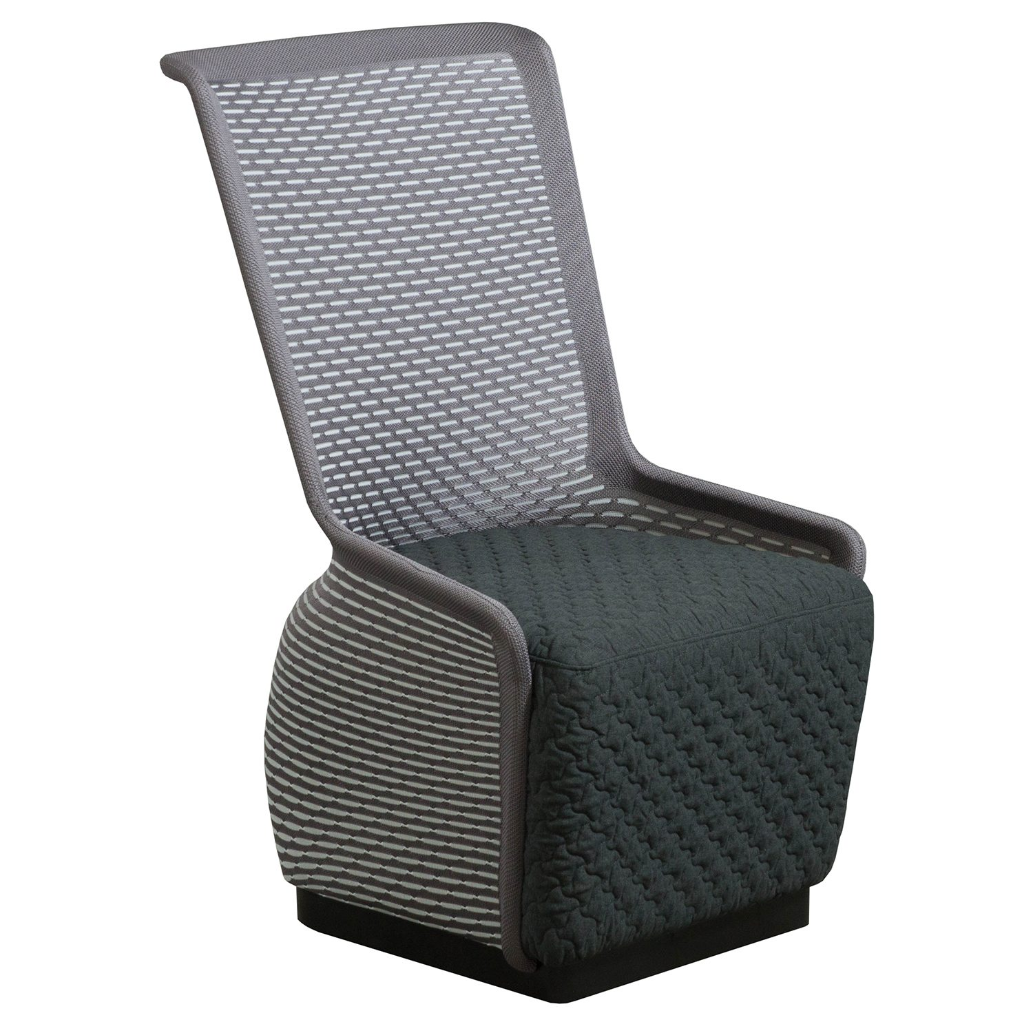 Mesh Lounge Chair Tide Pool By Gosit Modern Mesh Lounge Chair Gray
