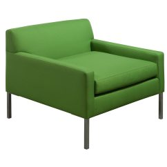 Green Lounge Chair Diy Wood Mat Used Lime National Office Interiors