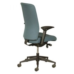 Allsteel Task Chair Leather Club And Ottoman Scout Used Teal National Office Interiors
