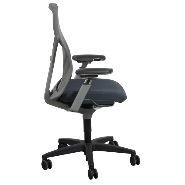 allsteel task chair adirondack kits lowes acuity used mesh back gray national office