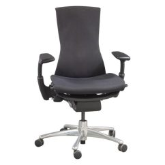 Herman Miller Embody Chair Used Banquet Accessories Task Carbon Balance National