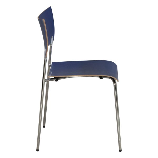 Piiroinen Chip Used Stackable Chair Blue  National