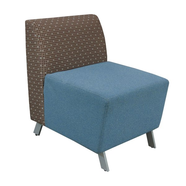 Arcadia Achella Used Modular Lounge Seating Brown Pattern - National Office Interiors And