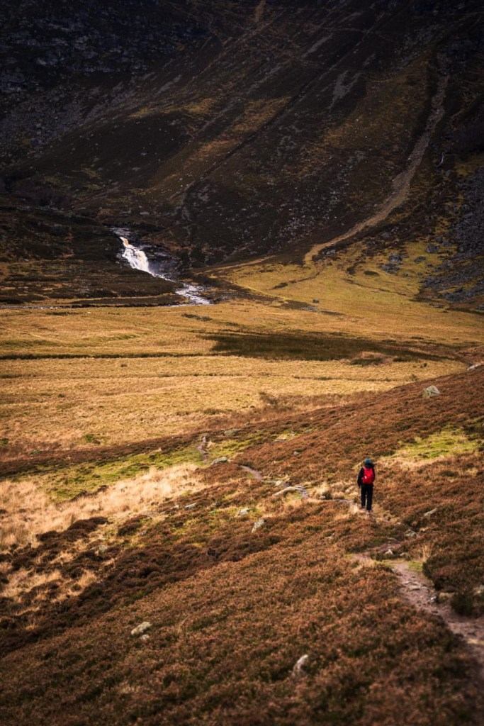 Hiking at Cairngorms National Park