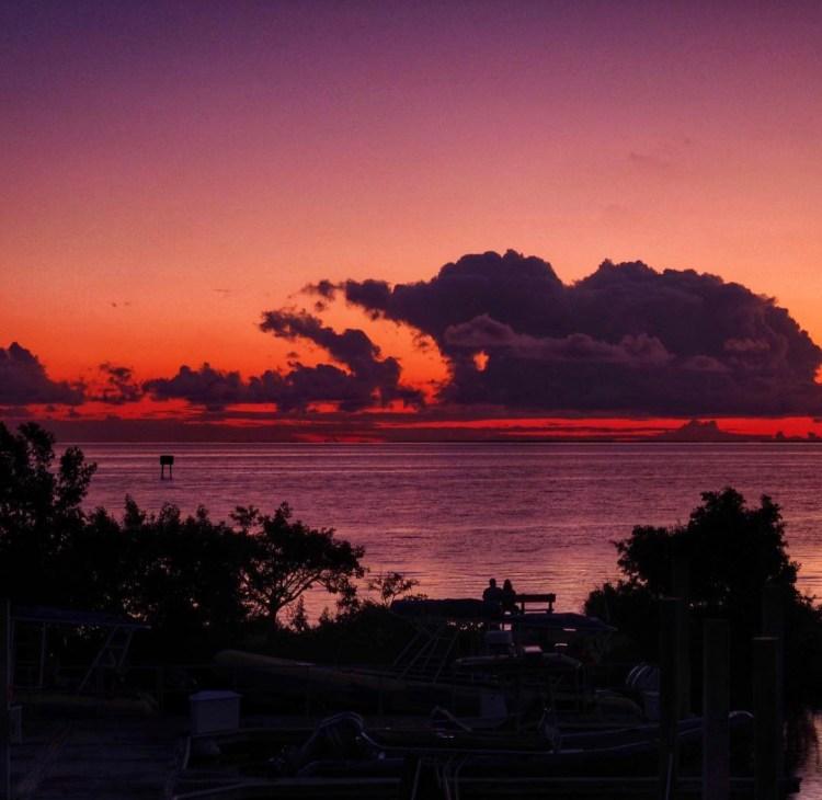 Sunsets at Biscayne National Park