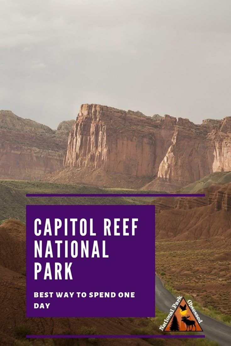 Looking to visit Capitol Reef National Park?  Do you only have one day to spend?  Check out our guide to spending one day in Capitol Reef National Park.
