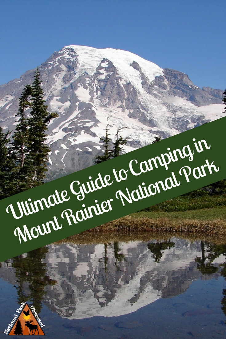 Planning on going camping in Mount Rainier National Park? Confused about which campsite to pick. National Park Obsessed's Ultimate Guide is here to help. 