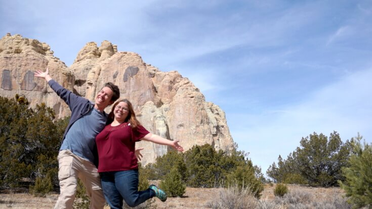Learn about National Park Obsessed Community members Sarah and Lucas Villa-Kainec - Podcasts with Park Rangers. They are RV'ing around the United States.