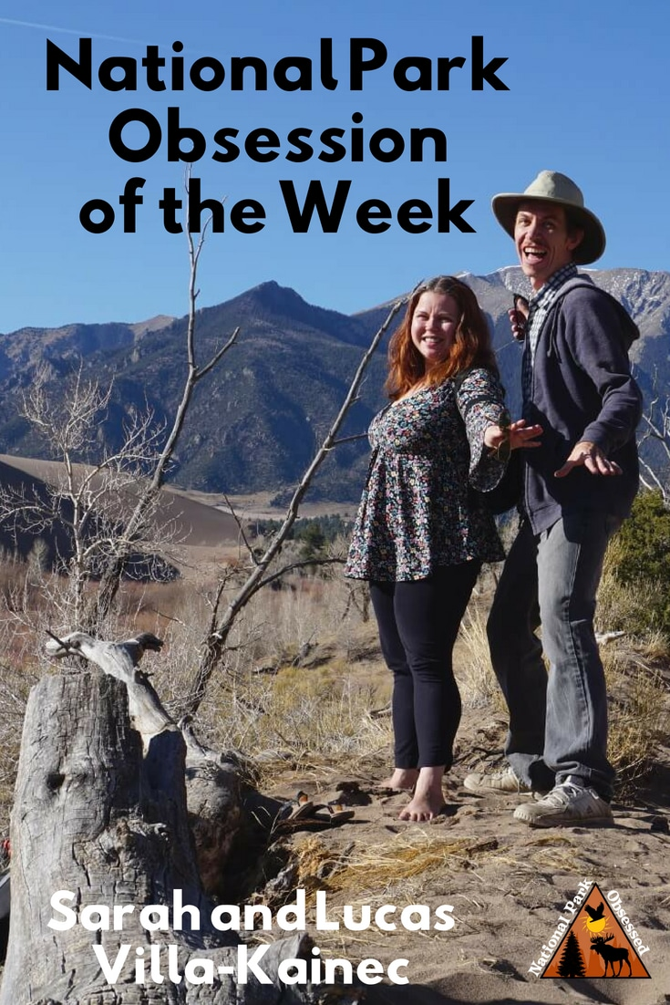 Learn about National Park Obsessed Community members Sarah and Lucas Villa-Kainec - @VirtualKamper. They are RV'ing around the United States.  #Nationalparkobsessed #nationalparks #nationalpark #findyourpark