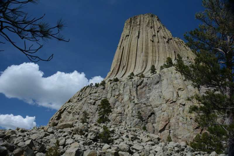 Looking to make a pitstop and visit Devils Tower National Monument, Wyoming? Here is your guide to camping in Devils Tower National Monument.