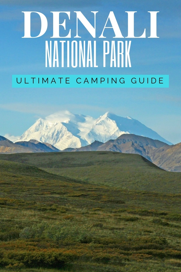 Planning on going camping in Denali National Park?  Confused about which campsite to pick. National Park Obsessed\'s Ultimate Guide is here to help you pick the very best campsite.  Denali national park vacation.  Denali national park | Denali national park vacation | Denali national park photography | Denali national park itinerary | Denali hikes | Denali itinerary