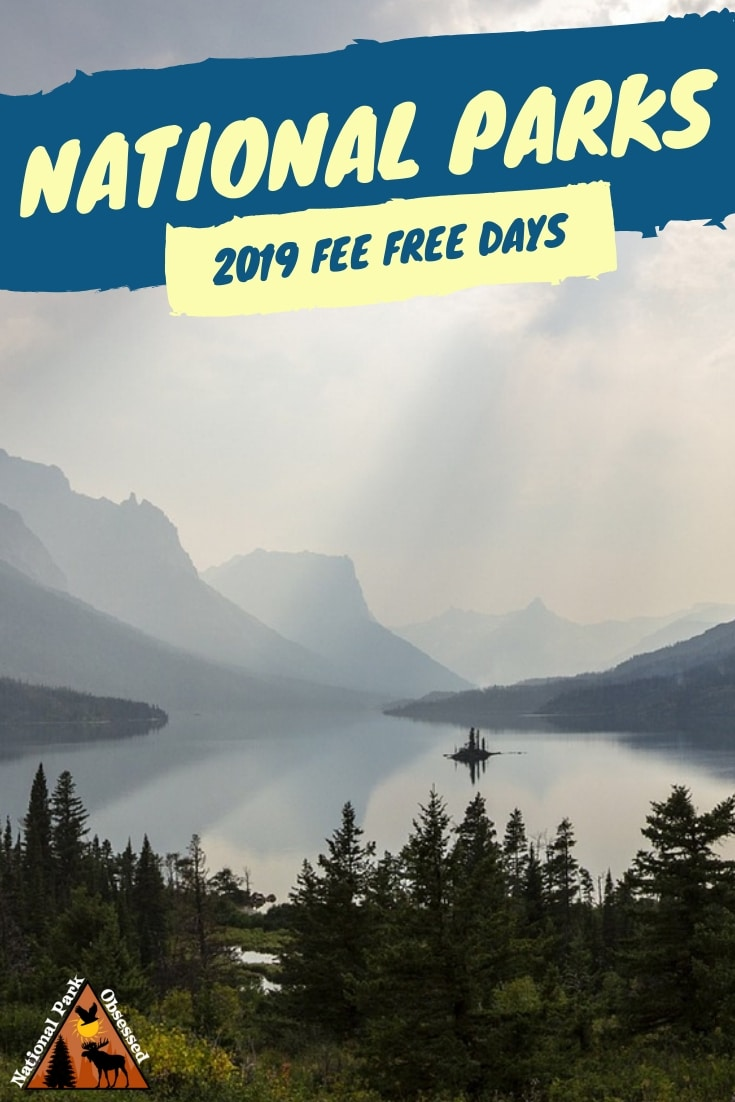 Looking to visit a national park in 2019? Here the 2019 free entrance days where you can enter national parks for free. These fee free days make for an excuse to visit a nearby national park.  