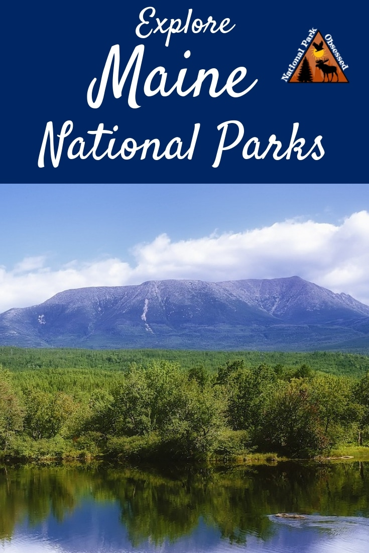 Looking to explore the national parks of #Maine? Here is a complete list of all the national park service sites in Maine. #findyourpark #nationalparks #nationalparkobsessed