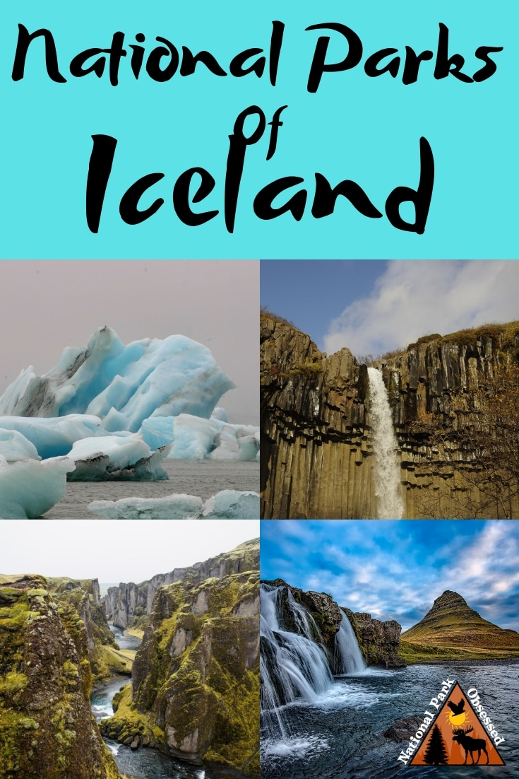 Iceland is in the land of fire and ice. The National Parks of Iceland are home to the most picturesque places in Iceland.  They have glaciers, waterfalls, mountains, and so much more.  