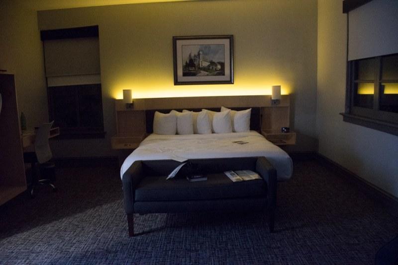 The Waters Hotel - Room Lighting