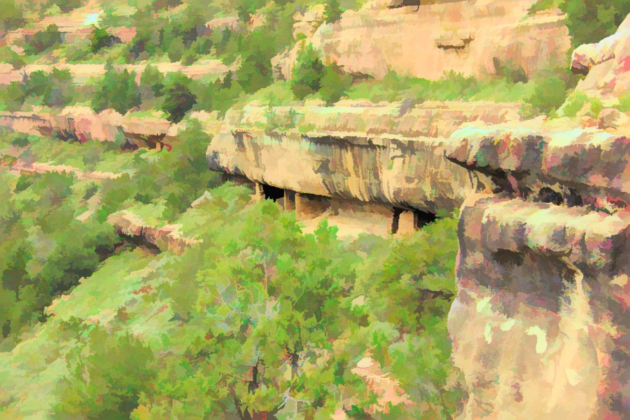 Walnut Cliff Dwelling
