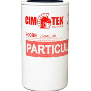 "CimTek 250A Series 1"" Filter w/o Drain"