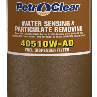 """PetroClear 1"""" Water Stop Filter"""