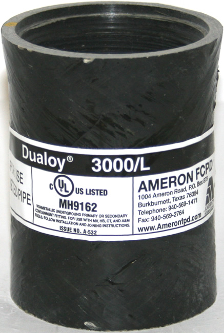"""Dualoy 3000/L 2"""" Adapter (Bell x Female)"""