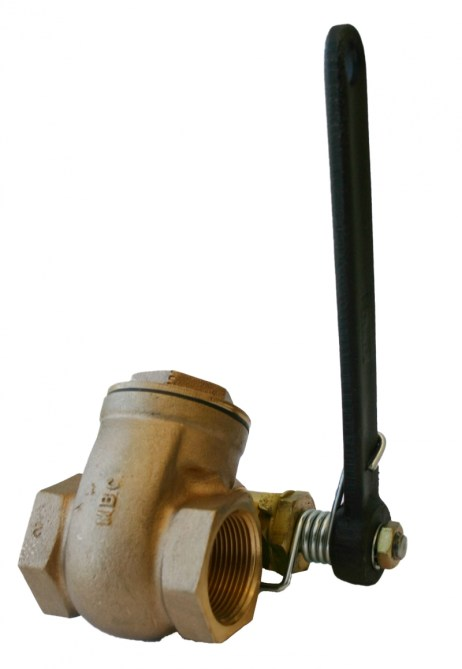 Morrison Bros 238 Quick Opening Gate Valve with External Spring